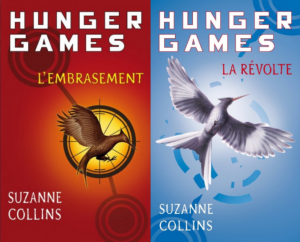 Hunger games 2 L'embrasement Hunger Games 3 La révolte Suzanne Collins