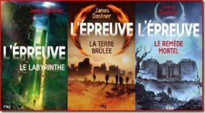 L'épreuve Trilogie James Dashner Le labyrinthe livre