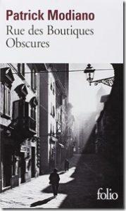 Patrick Modiano Rue des Boutiques obscures