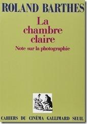 Barthes La chambre claire