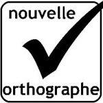 Logo Nouvelle orthographe Le petit blogue lectrice compulsive