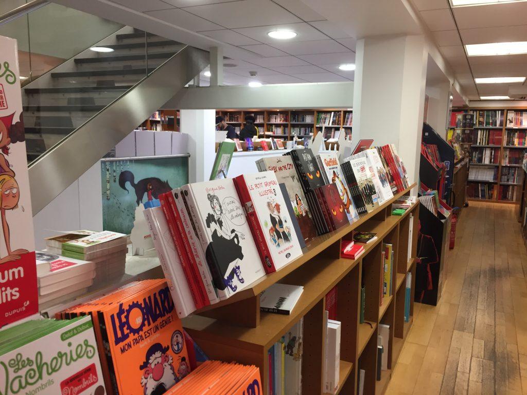 Librairie Kleber Escalier