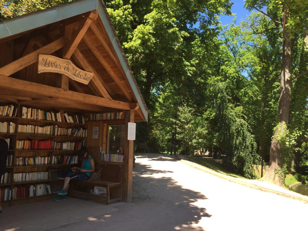 Bibliothèque Parc de l'Orangerie