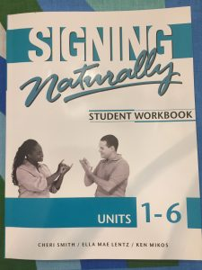 ASL Book Signing naturally Americain sign language Langue des signes américaine